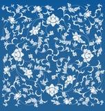 Chiński kwiecisty wzór Zdjęcia Stock