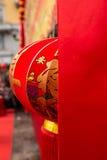 chiński latarniowy nowy tradycyjny rok Obraz Stock