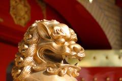 chiński lew Fotografia Royalty Free