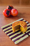 Chiński Mooncake Zdjęcie Royalty Free