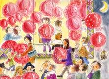 chiński nowy rok Ilustracja Wektor