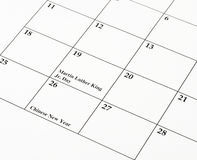 chiński nowy rok kalendarzowy Obrazy Royalty Free