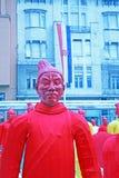 Chiński nowy rok 4713th, 3, Zagreb, Chorwacja Zdjęcia Stock