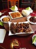 chiński obiad Fotografia Royalty Free