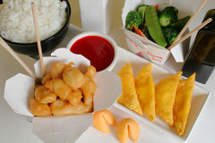 chiński obiad Obraz Royalty Free