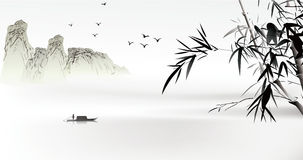 chiński obraz Zdjęcie Stock