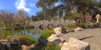 Chiński ogród botaniczny przy Huntington ogródem botanicznym Obraz Royalty Free