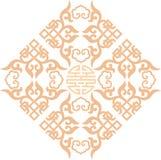 Chiński ornament 004 Zdjęcia Royalty Free