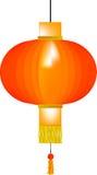 Chiński papierowy lampion Zdjęcia Royalty Free