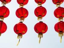 Chiński papierowy lampion Obraz Stock