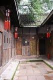 chiński patio Zdjęcia Royalty Free