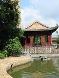 Chiński pawilon i ogród Fotografia Stock
