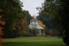 Chiński pawilon Sanssouci Potsdam Zdjęcie Royalty Free