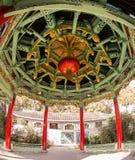 Chiński pawilon w miasto parku zdjęcia royalty free