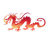 Chiński smok Zdjęcie Royalty Free