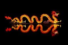 Chiński smoka lampion Obrazy Royalty Free