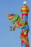 chiński smoka statuy styl Fotografia Stock