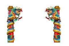 chiński smoka statuy styl Fotografia Royalty Free