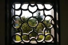 chiński styl okno Obraz Stock