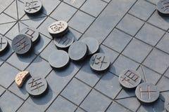 Chiński szachy Obraz Royalty Free