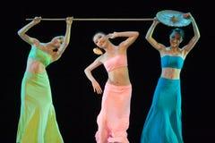 chiński taniec ludzi Zdjęcia Royalty Free