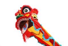 chiński taniec lwa Obrazy Royalty Free
