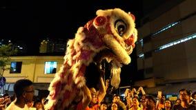 chiński taniec lwa Fotografia Royalty Free