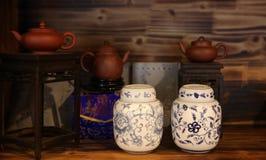 chiński tearoom obraz stock