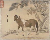Chi?ski tradycyjny obrazu zwierz? zdjęcie stock
