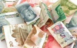 Chiński waluty Juan rmb rachunek Obrazy Royalty Free