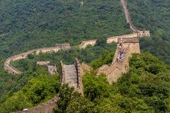 chiński wielki mur Zdjęcie Stock