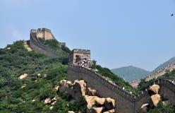 chiński wielki mur Fotografia Royalty Free