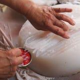 Chiński zimny naczynie - fasoli galareta Obrazy Stock
