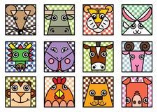 Chiński zodiak Zdjęcie Stock