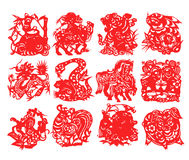 chiński zodiak Zdjęcie Royalty Free