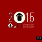 Chiński zodiak 2015 - rok cakle (baran, kózka Zdjęcia Stock