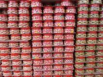 chińskich przysmaków nowy stert rok Zdjęcie Stock
