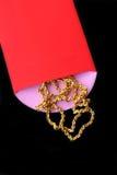 Chińskie czerwieni kieszenie zdjęcie royalty free