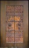 chińskie drzwi Fotografia Royalty Free