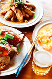 chińskie jedzenie Obraz Stock