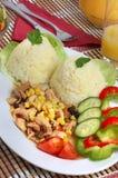 chińskie jedzenie na lunch Fotografia Royalty Free