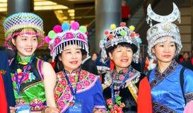 chińskie kobiety Obraz Royalty Free