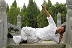 chińskie kung fu Fotografia Royalty Free