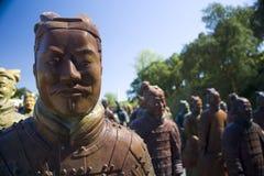 chińskie statuy Zdjęcie Stock