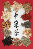 Chińskie Zielarskie herbaty Zdjęcia Stock
