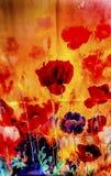 Chińskiego Kolorowego kwiatu Jedwabniczy szalik Yuyuan Szanghaj Chiny Zdjęcie Royalty Free