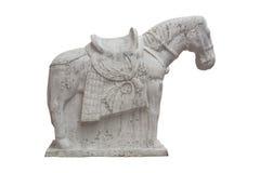 Chińskiego stylu konia statua Obrazy Royalty Free