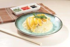 Chińskiego stylu kurczaka odparowana kuchnia Zdjęcia Stock