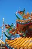 Chińskiego stylu smoka statua Zdjęcia Royalty Free