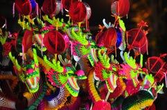 Chińskiego stylu smoka zabawka Obraz Royalty Free